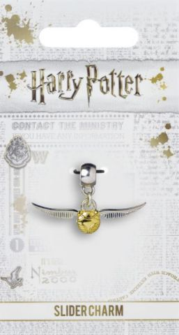 Golden Snitch Slider Charm by The Carat Shop HP0004