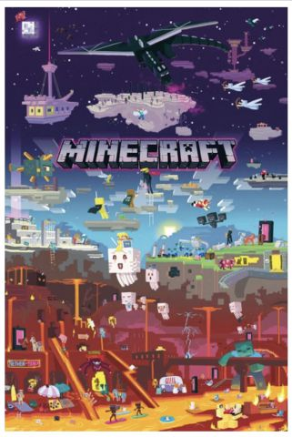Minecraft World Beyond Maxi Poster by GB Eye FP4521