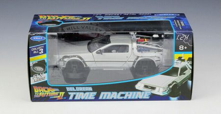 Back to the Future II DeLorean Flying Version Welly 22441FVW