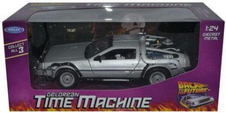 Back to the Future Delorean Part 1 by Welly 22443W