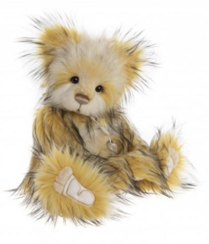 Charlie Bear Cheese Whizz Plush Teddy Bear CB202040C
