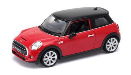 Welly New Mini Hatch Red 1:24 scale 24058WRED