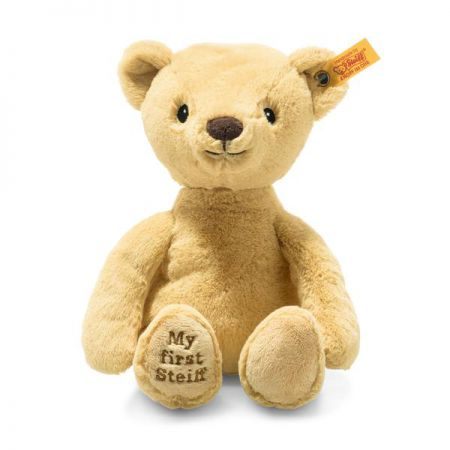 Steiff My First Steiff Teddy Bear Blond Plush Soft Cuddly Friends 26cm 242038