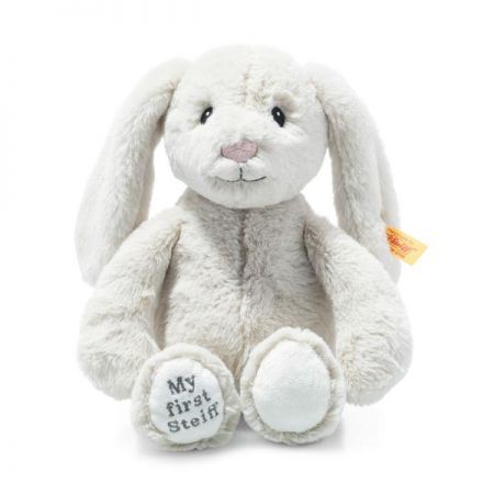 Steiff My First Steiff Hoppie Rabbit Cream Plush Soft Cuddly Friends 26cm 242076