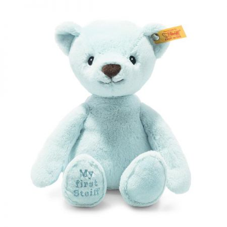 Steiff My First Steiff Teddy Bear Blue Plush Soft Cuddly Friends 26cm 242144