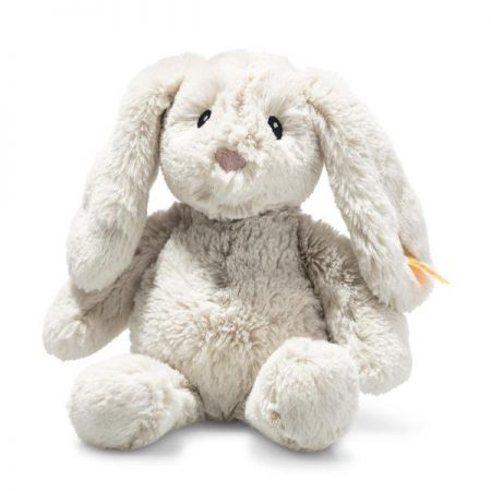 Steiff My First Steiff Hoppie Rabbit Cream Plush Soft Cuddly Friends 242342