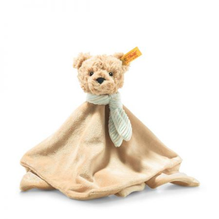 Steiff Jimmy Teddy Bear Comforter Beige Plush Soft Cuddly Friends 26cm 242281