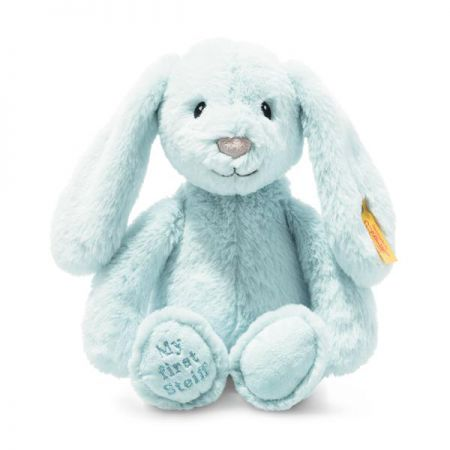 Steiff Lita Lamb Grip Toy with Rattle Cream Plush Soft Cuddly Friends 242328