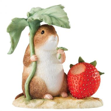 A23355 Timmy Willie with Strawberry Figurine by Enesco