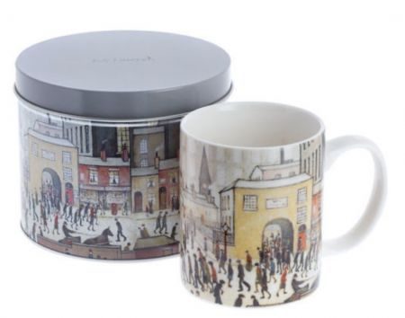 John Beswick Mug in Tin Lowry Coming from the Mill JBLOW1