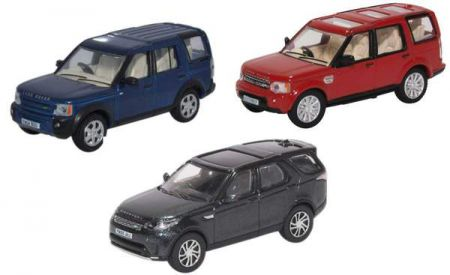 Oxford Diecast Land Rover Discovery Set 3/4/5/ (3 piece) 76SET71