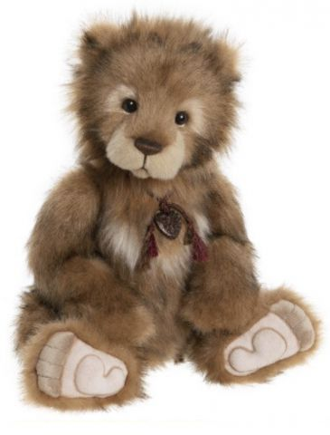 Charlie Bears Wilfy Plush Teddy Bear CB202037A