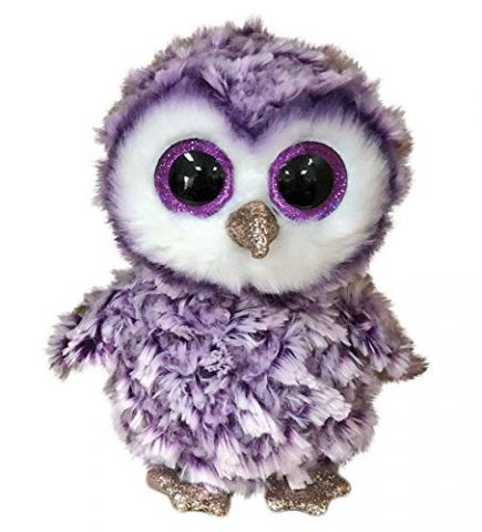 36325 Moonlight Owl Plush Beanie Boo by TY 16cm
