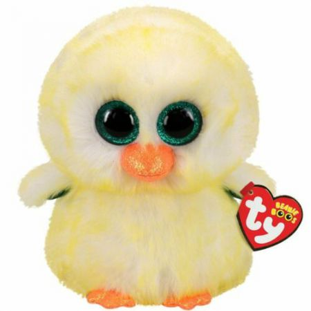 36471 Lemon Drop Chick Plush Beanie Buddy Easter by TY 22cm