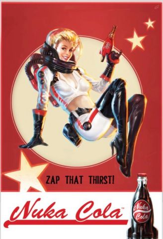 Fallout 4 Nuka Cola Maxi Poster by GB Eye FP4037