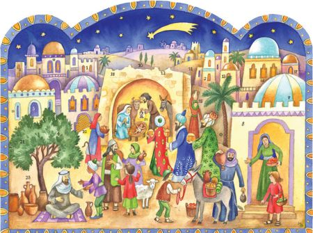 Richard Sellmer Advent Calendar At the stable in Bethlehem Traditional 70123