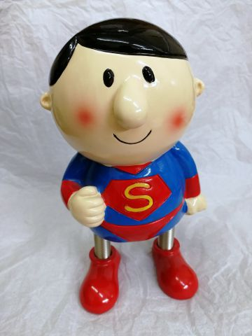 40441A Superhero Money Bank by Shudehill Giftware