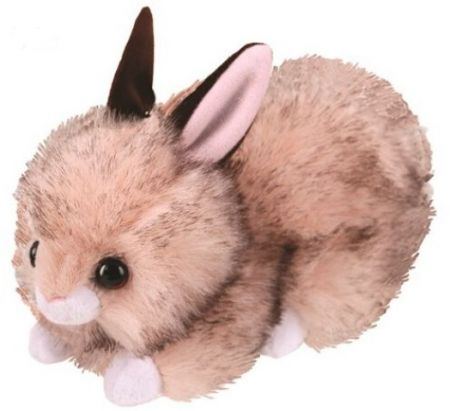 42115 Buster Brown Bunny Plush Beanie Boo Easter by TY 15cm