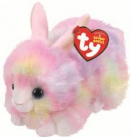 42188 Sherbet Pastel Bunny Plush Beanie Boo Easter by TY 15cm