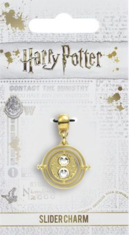 Fixed Time Turner Slider Charm by The Carat Shop HP0100