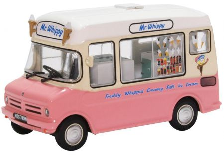 Oxford Diecast Bedford CF Ice Cream Van Mr Whippy 43CF001