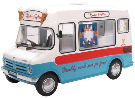 Oxford Diecast Bedford CF Ice Cream Van Morrison Mr Softee 43CF003