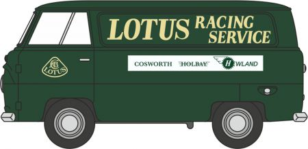 43FDE017 Ford 400E Van Lotus by Oxford Diecast