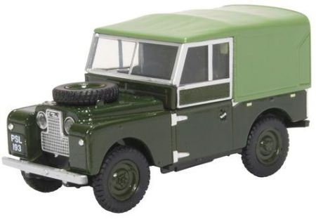 "43LAN188024 Land Rover Series I 88"" Canvas Bronze Green (Plimsoll)"