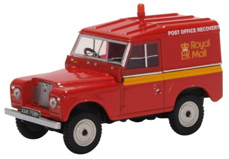 43LR2AS002 Land Rover Series IIA SWB Hard Top Post Office Recovery