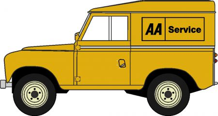 43LR3S002 Land Rover Series III SWB Hard Top AA