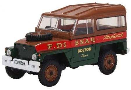 43LRL006 Land Rover Lightweight Hard Top Fred Dibnah