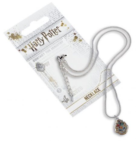 Harry Potter Hogwarts Crest Necklace by The Carat Shop WN0026