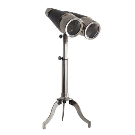 Authentic Models Victorian Binoculars with Tripod, Silver KA025S