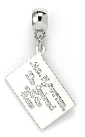 Hogwarts Acceptance Letter Slider Charm by The Carat Shop HP0017
