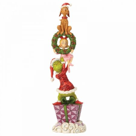 Stacked Grinch Characters Figurine Jim Shore & Enesco 6002066