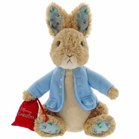 Beatrix Potter Peter Rabbit Christmas LargeSoft Toy 30cm (large) by GUND 6054396