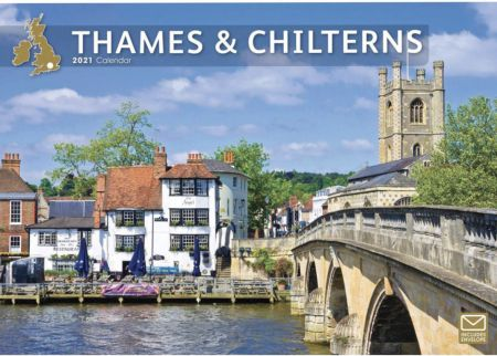 Thames and Chilterns 2021 A4 Calendar By Carousel Calendars 210211