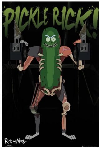 Rick and Morty Pickle Rick! Maxi Poster by GB Eye FP4584