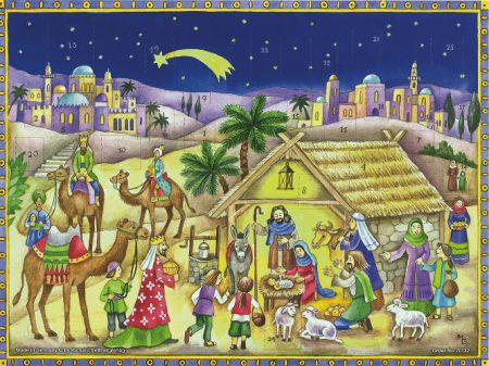 Richard Sellmer Advent Calendar Come all to the Manger 70132