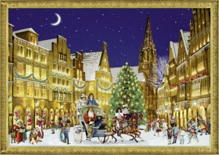 Coppenrath German Town at Christmas Traditional Advent Calendar 71323