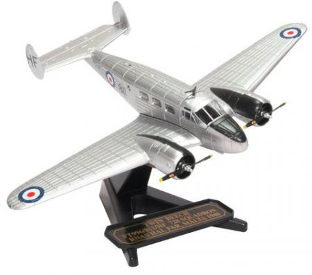 Oxford Diecast Twin Beech FT996-811-HF 728 Squadron RNAS Hal Far Malta 1948 72BE002