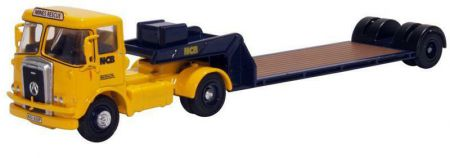 76ATK004 Atkinson Borderer Low Loader NCB Mines Rescue by Oxford Diecast