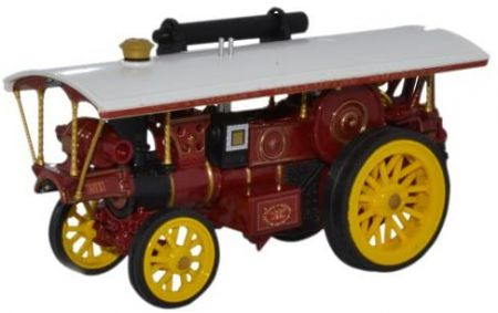 Oxford Diecast Burrell Showmans Loco No.1 76BUR005