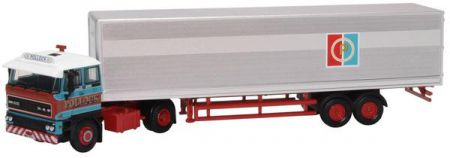 Oxford Diecast DAF 3300 Short Van Trailer Pollock 76D28003