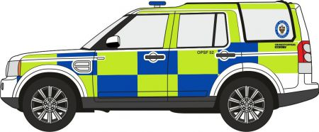 Oxford Diecast West Midlands Police Land Rover Discovery 4 76DIS006