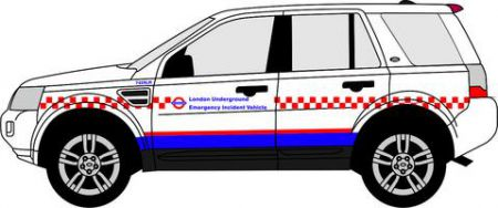 76FRE005 Land Rover Freelander London Underground