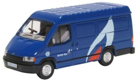 76FT3008 Ford Transit Mk3 British Gas by Oxford Diecast