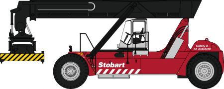 76KRS005 Konecranes Reach Stacker Stobart (Red)