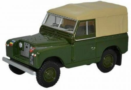 76LR2S006 Land Rover Series III SWB Canvas REME by Oxford Diecast