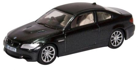 76M3002 BMW M3 Coupe E92 Jerez Black by Oxford Diecast